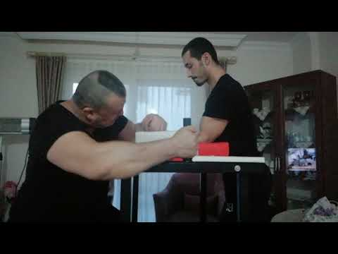 ARM WRESTLİNG TRAİNİNG WORKOUT 💪 AHMET SONTAY VS FURKAN SONTAY 💪