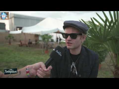 Sum 41 - Interview @ Highfield Festival   19.08.2016