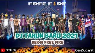 DJ MALAM TAHUN BARU 2021 - MASHUP - REAL DRUM COVER VERSI FF    GARENA FREE FIRE