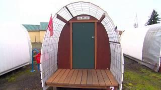 Conestoga Huts Helping The Homeless