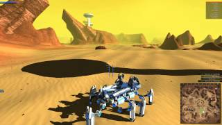Robocraft: Flying Walker (the Grasshopper) Eight Legs!