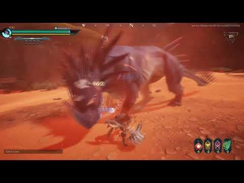 Dauntless : Bloodfire Embermane Solo Hammer
