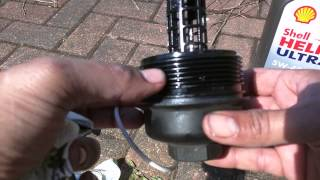 Volvo D5 Oil and Filter Change
