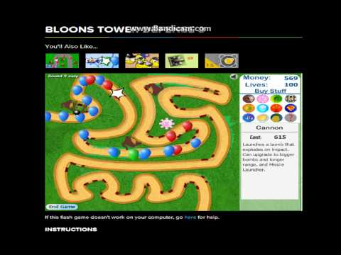 Coolmath Games! Bloons Tower Defense