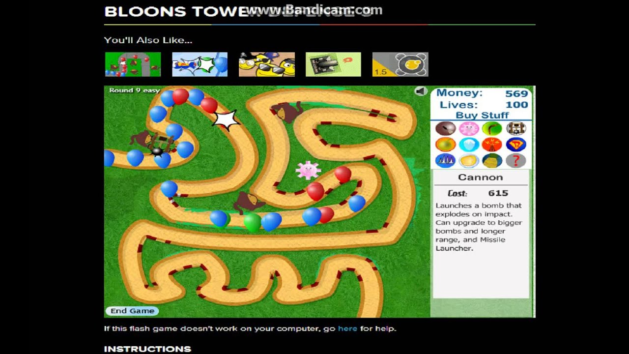 cool math games bloons tower defense 3