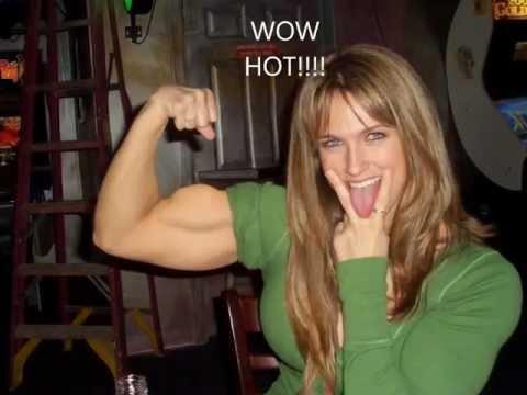 Girl Muscles - muscular women, women body builders, all flexing strong sexy muscles!