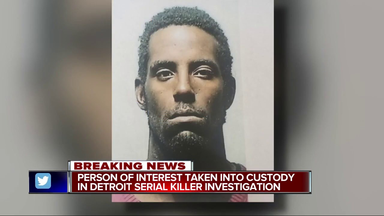 Detroit police arrest person of interest in potential serial killer case