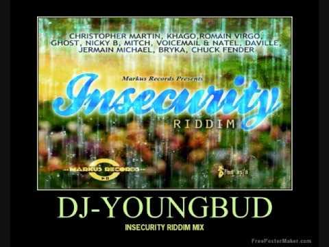 INSECURITY RIDDIM MIX APRIL 2013-MARKUS RECORDS @DJ-YOUNGBUD,GHOST,DAVILLE,VIRGO,CHRIS,KHAGO,MITCH