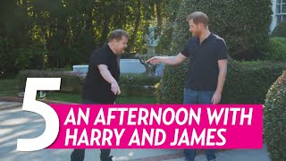5 Best Moments From Prince Harry's Afternoon With James Corden