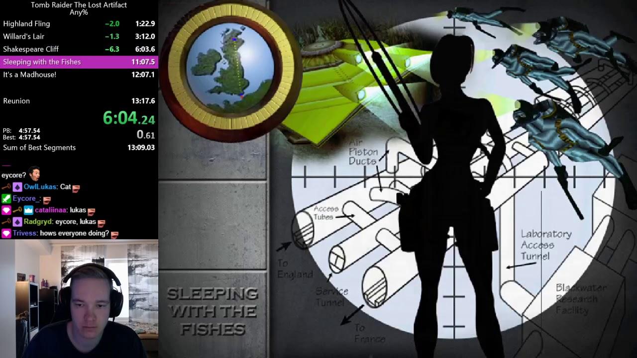 Tomb Raider The Last Artefact Any% Speedrun RTA 13:12