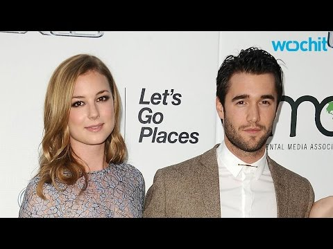 Emily VanCamp and Joshua Bowman  Off Their Beach Bods