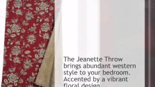 Jeanette Throw - lonestarwesterndecor.com