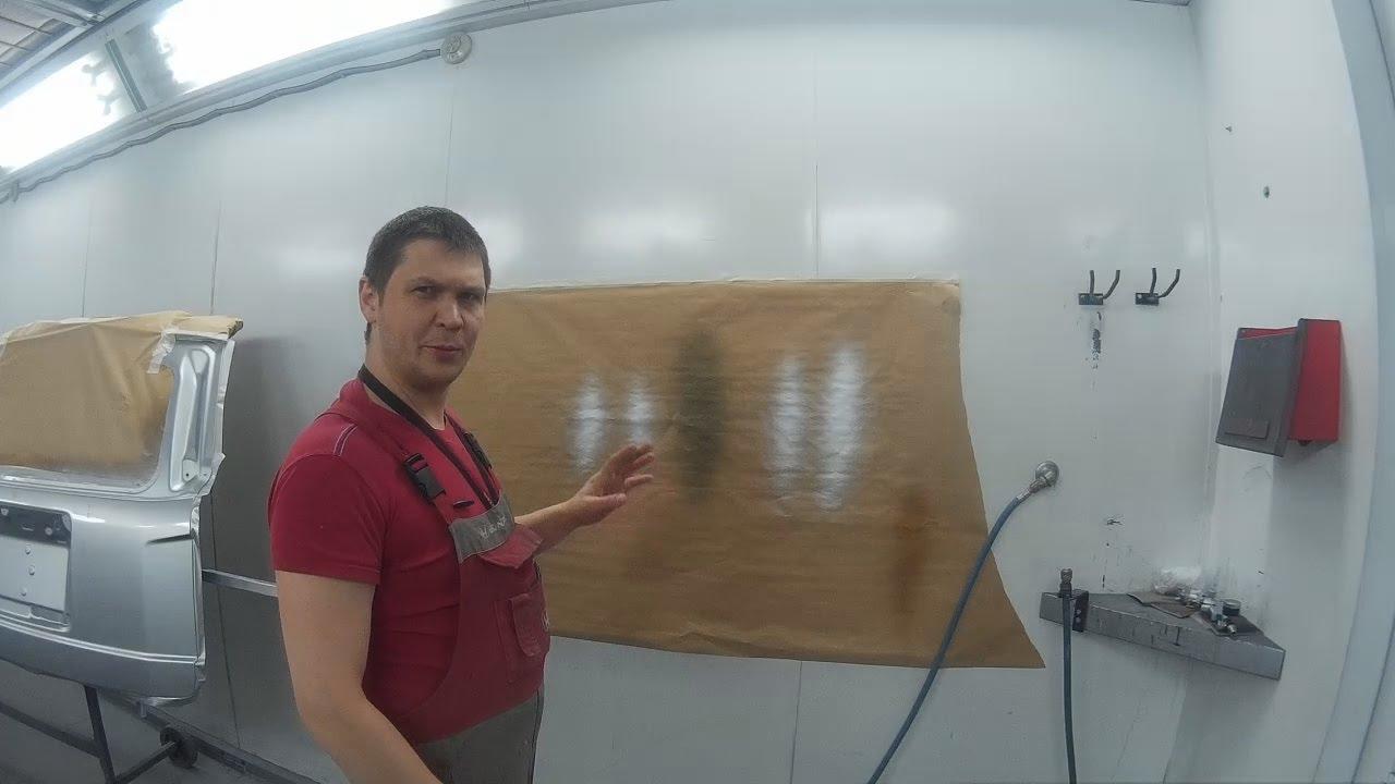 Обзор Краскопульт ФИОЛЕНТ КР1-260 - YouTube
