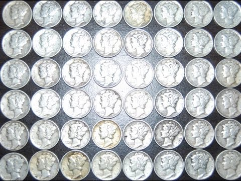 5,000 Mercury Dimes - Bullion Lot Hunting - Extremist Treasu