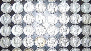5,000 Mercury Dimes - Bullion Lot Hunting - Extremist Treasure Hunting