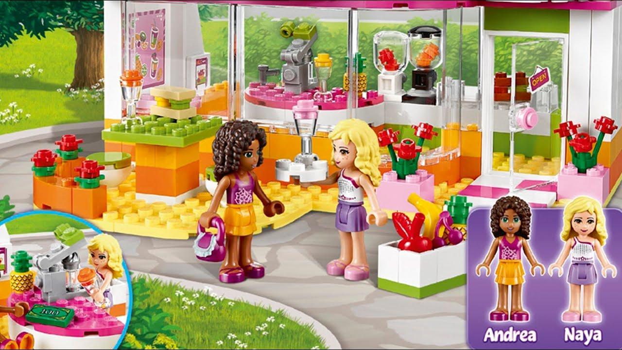 Heartlake Juice Bar Bar Z Sokami W Heartlake 41035 Lego