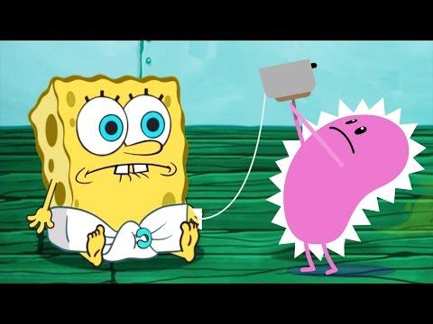 SpongeBob's Game Frenzy Vs Dumb Ways To Die April Fool! | Kids Nickelodeon Games