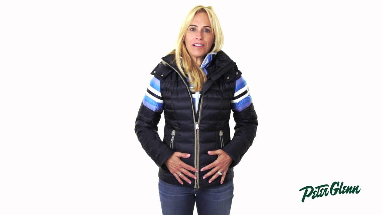 В сезоне осень-зима 2018 немецкий бренд bogner jeans представил спортивный комплект штанов прямого кроя на шнурках с боковыми карманами и толстовкой на молнии модель с фирменной нашивкой логотипа бренда.