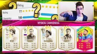 MARADONA 98! 5 IKON OPTIMUS PRIME W DRAFCIE! | FIFA 19