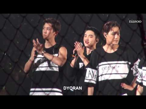 [ENG] 151108 D.O. MENT The EXO'luXion In Tokyo Dome 3rd Day 경수엔딩멘