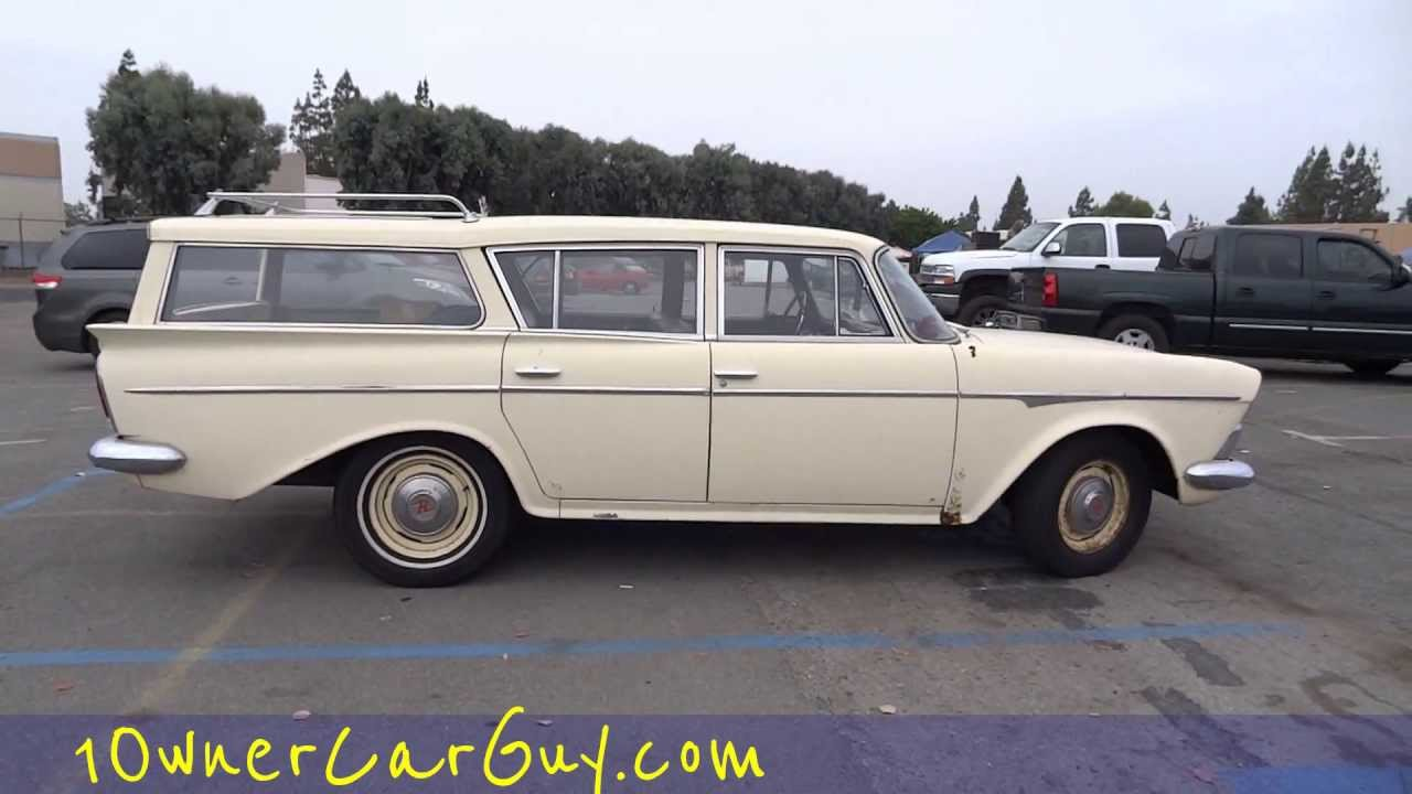 Rambler Station Wagon Cross Country Rare Hard To Find 50\'s-60\'s ...