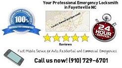 Emergency Locksmith Fayetteville NC | (910) 729-6701