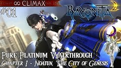 Bayonetta 2」 Pure Platinum Walkthrough #07 [∞ Climax