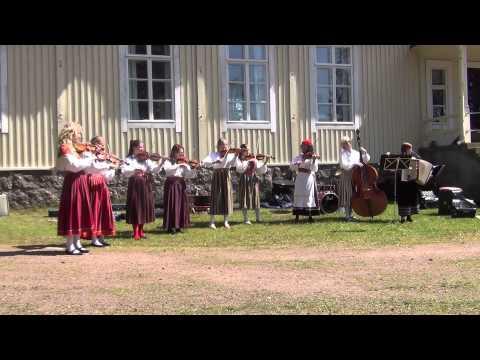 Folk music - Folk dance ,  Haapsalu muusikakool, Estland / Eesti