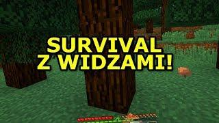 SURVIVAL Z WIDZAMI ? - Minecraft Farmvival.pl - Na żywo