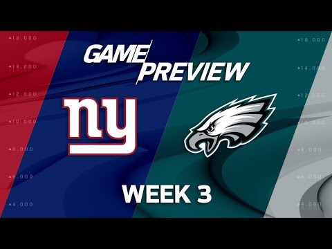 New York Giants vs. Philadelphia Eagles | Week 3 Game Preview | Move the Sticks
