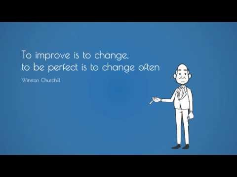 What is organizational CHANGE?