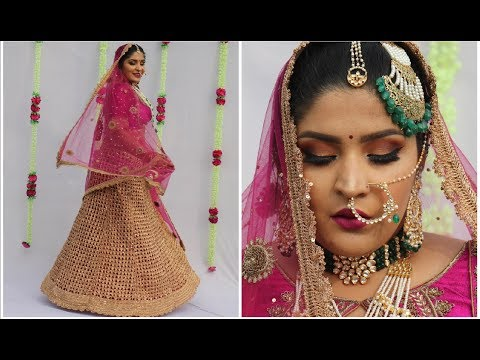 Indian Bridal Makeup Tutorial | Lots Of Tips & Tricks! | #TheShaadiSaga | Shreya Jain
