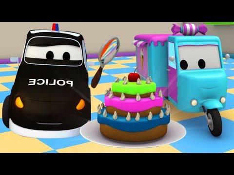 Os Bolos roubados  A Super Patrulha na Cidade do Carro  desenhos animados para crianças