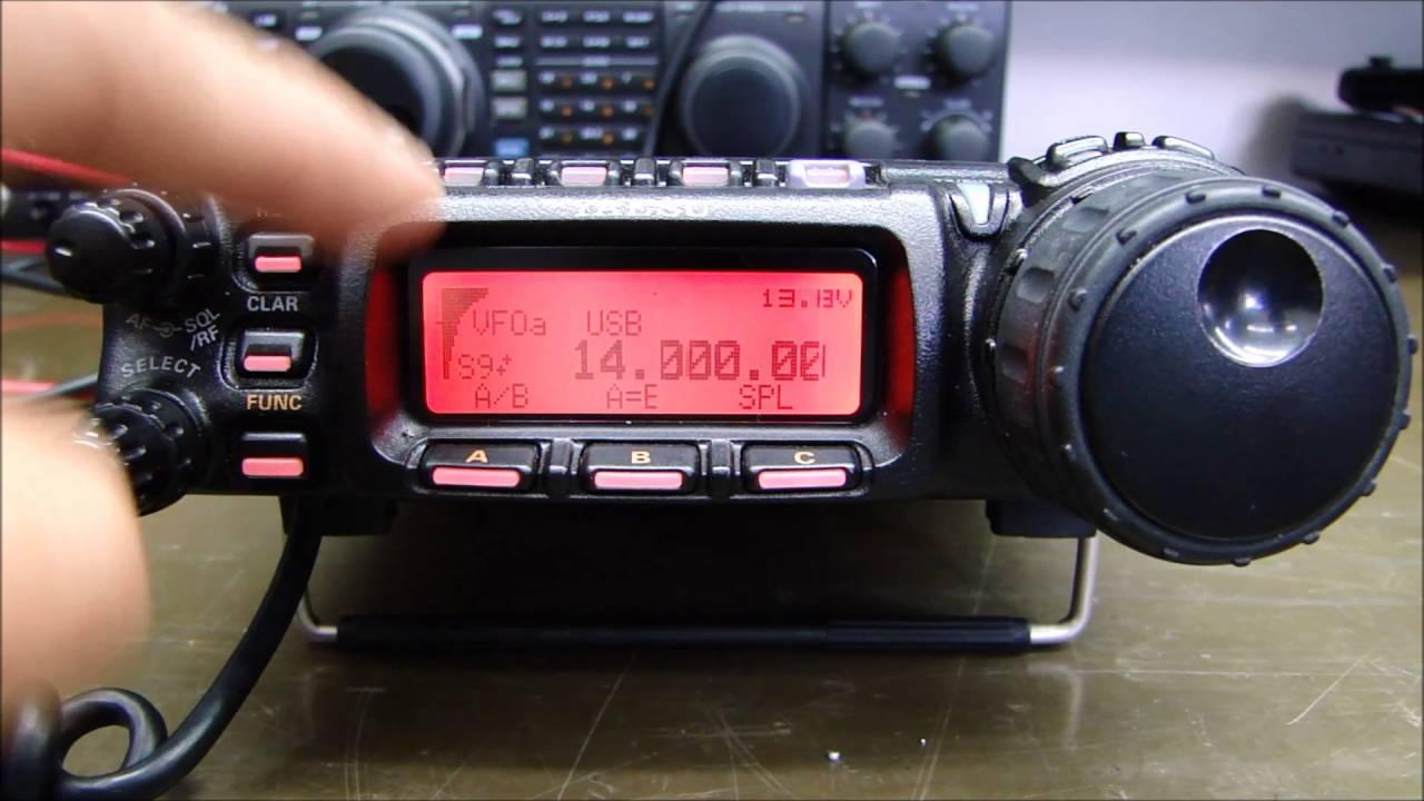 ALPHA TELECOM: YAESU FT-857D REVISÃO, TROCA de FILTROS e ALINHAMENTO MENU de SERVIÇO