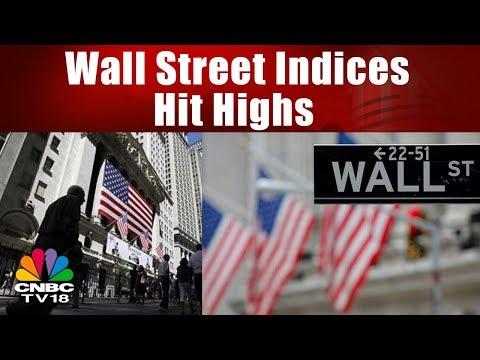 Wall Street Indices Hit Highs As Govt Shutdown Ends | Bazaar Morning Call | CNBC TV18