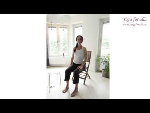Yoga för alla - Yoga på en stol - Rehab specialpass sjukdomar (Nyb)