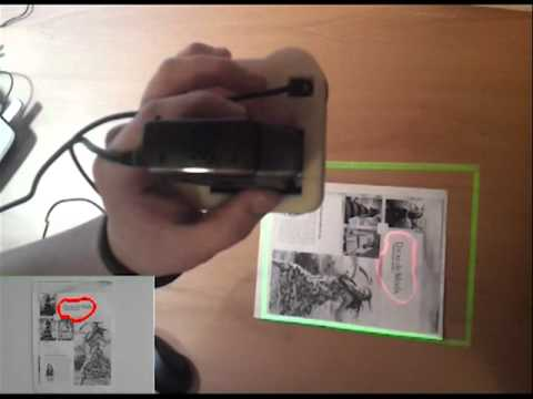 Handheld Projector Augmented Reality - Monash University Electrical Engineering - Sam Trolland 2012