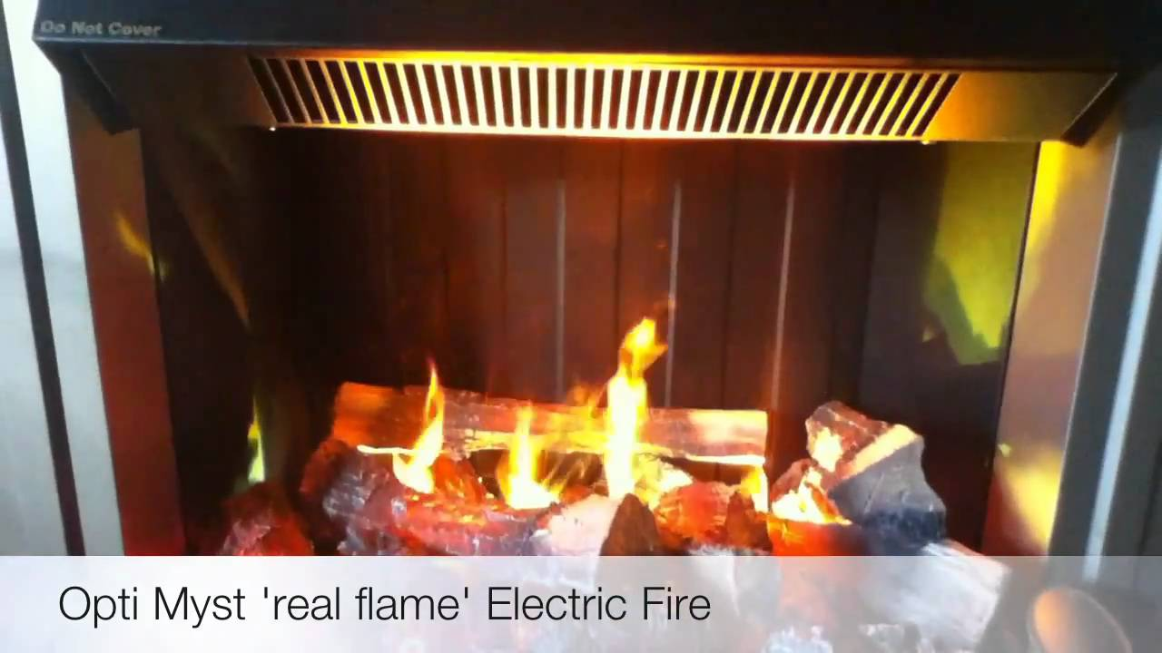 "Opti Myst ""Real Flame"" Electric Fire"