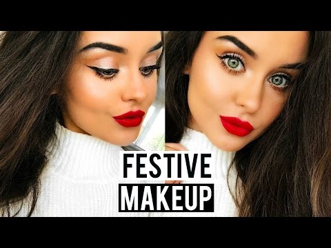 EVERYDAY FESTIVE MAKEUP LOOK - QUICK & EASY | KatesBeautyStation