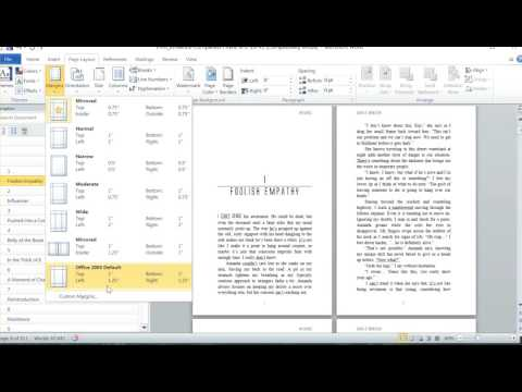 Insider secrets to professional book formatting in MS Word