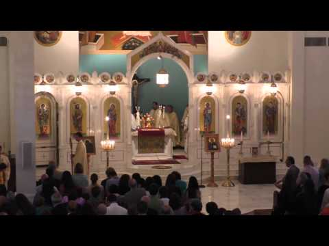 Patriarchal Divine Liturgy with Patriarch John X of Antioch (July 19, 2015)