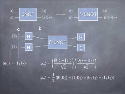 Lesson 38 Quantum Computing, Deutsch's Problem