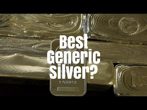 The Best Generic Silver You Can Buy!!