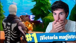 MI PRIMERA VICTORIA!! Fortnite: Battle Royale
