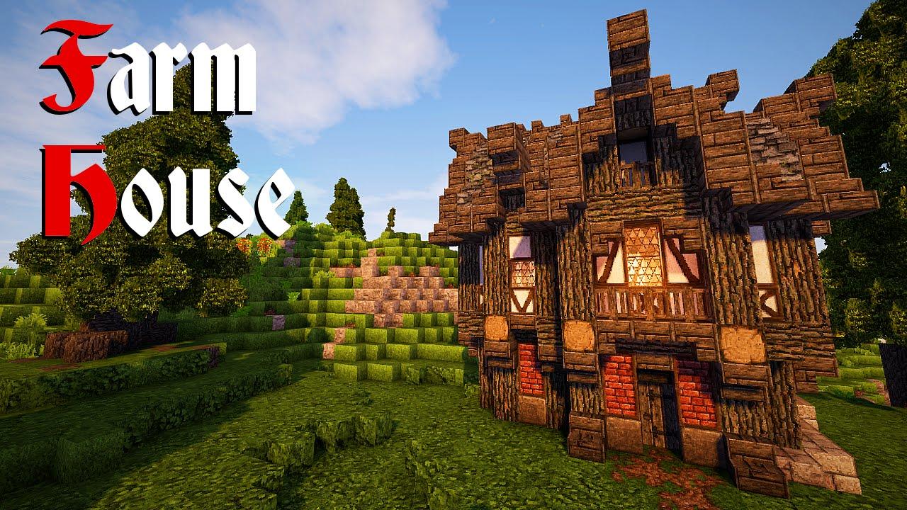 Minecraft Farm House Tutorial YouTube