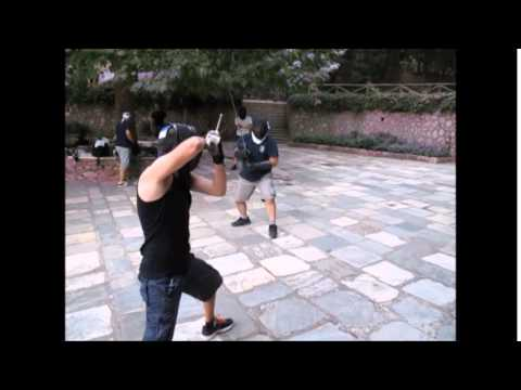 'Leontes' Long Sword Summer camp  2015 in Greece