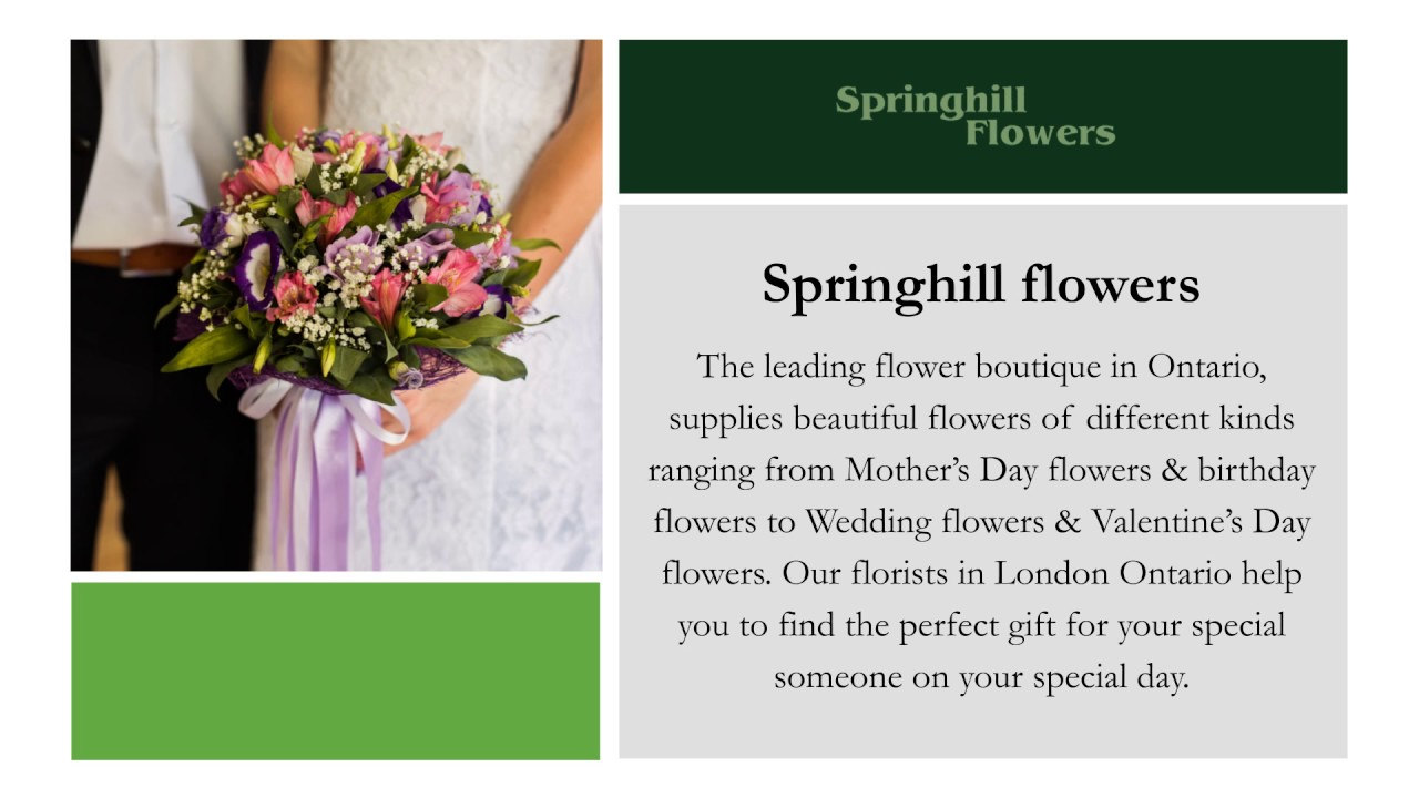 The fastest flower delivery in london ontario springhill flowers the fastest flower delivery in london ontario springhill flowers izmirmasajfo