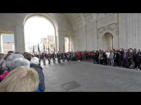 RCMP Pipes and Drums at The Menin Gate