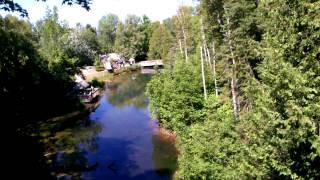 Amazon Rope And Plank Suspension Bridge