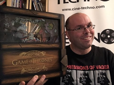 Présentation (unboxing) Du Coffret Game Of Thrones: Complete Collection - Limited Edition En Blu-ray
